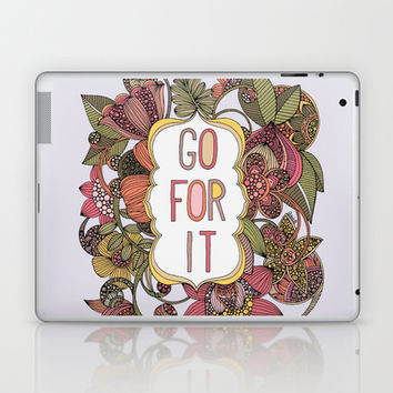 Go for it Laptop & iPad Skin by Valentina Harper
