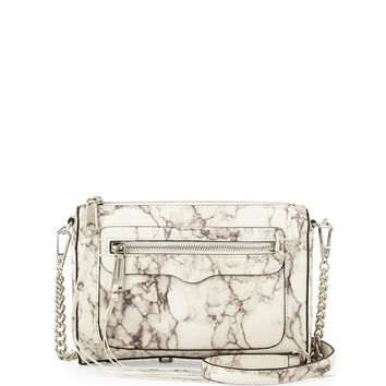 Avery Marble Print Crossbody Bag, Multi - Rebecca Minkoff