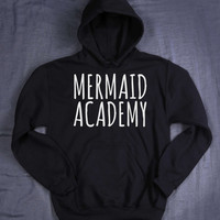 Mermaid Tumblr Hoodie Mermaid Academy  Slogan Student School Tumblr Sweatshirt Jumper