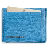 Men's Burberry Leather Card Case