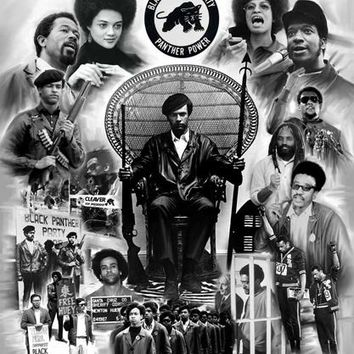 The Black Panther Party Wishum Gregory Art Print