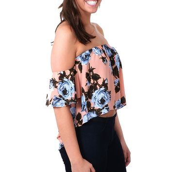 Del Ray Floral Top - Floral