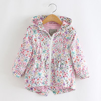 Baby Girls Hooded Jackets