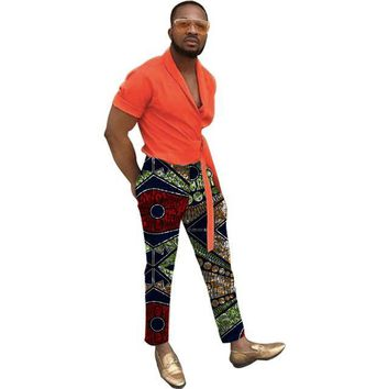 Ankara Print Pants Handmade Customized African Wax Clothing- Multiple Patterns