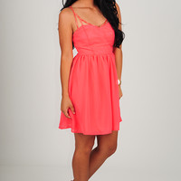 All My Love Dress: Coral