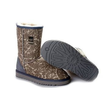 Uggs Boots Black Friday Sale Classic Fancy 5825 Grey For Women 80 22