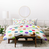 Elisabeth Fredriksson Time To Celebrate Duvet Cover