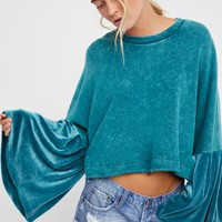 Free People Sleeve Glorious Sleeves Pullover