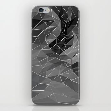 Abstract black explosion. Geometric background iPhone & iPod Skin by Taoteching / C4Dart