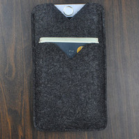 Cell phone case, Samsung Case, Samsung S 4 / S5 Felt Sleeve, Felt Case for Samsung Note 3/ Note 4, felt phone case, Custom phone case