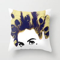 Marina and the diamonds Throw Pillow by Devon Jack | Society6