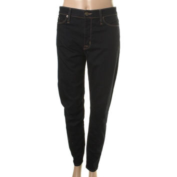 Hudson Womens Nico Dark Wash Stretch Skinny Jeans