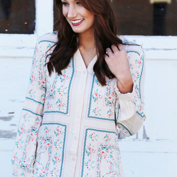 Once In A Floral Blouse