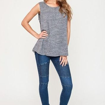 Jett Setter Distressed Moto Leggings - Two Colors