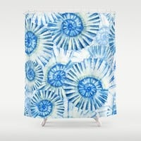 Sea Life Pattern 01 Shower Curtain by Aloke Design