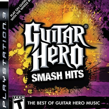 Guitar Hero Smash Hits - Playstation 3 (Game Only)