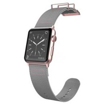 X-Doria Field Band for 38mm Apple Watch - Gray/Rose