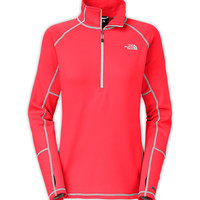 The North Face Women's Shirts & Tops Fleece WOMEN'S CONCAVO 1/2 ZIP