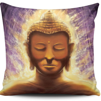 Mystical Buddha Pillow Covers