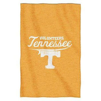 Tennessee Volunteers NCAA Script Sweatshirt Material Poly/Cotton Throw