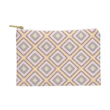 Vy La Woodland Diamond Pink Pouch