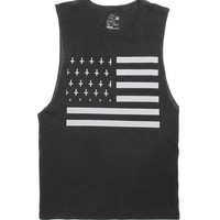 On The Byas Jam Cut Off Tank Top - Mens Tee - Black - Small