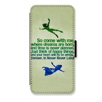 Peter Pan Card Slot Leather Covers for Samsung Galaxy Note 2 Case Wallet Phone Case