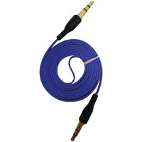 Iessentials 3.5mm Flat Auxiliary Cable 3.3ft (blue)