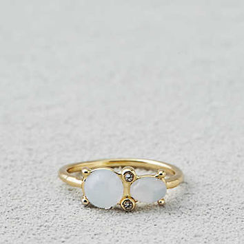 AEO Milky Stone Ring , Gold