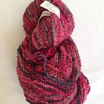 Cherry Tree Hill - Alpamayo - Alpaca/Merino blend - bulky weight boucle yarn - clr Foxy Lady