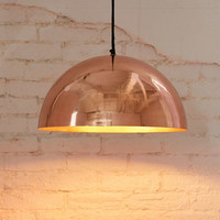4040 Locust Iris Dome Large Pendant Light - Urban Outfitters
