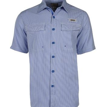 Men's Check Mate UV Vented Fishing Shirt (LT-4XLT)