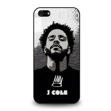 J. COLE ART iPhone 5 / 5S / SE Case Cover