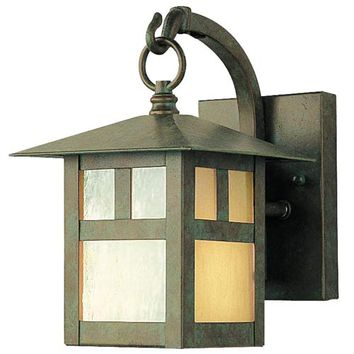 Livex Lighting 2130-16 Montclair Mission Verde Patina One-Light Outdoor Fixture