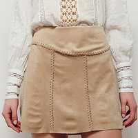 Free People Tie Me Vegan Skirt