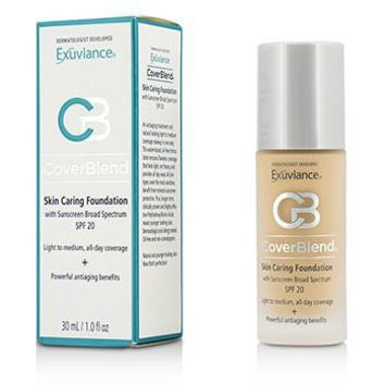 CoverBlend Skin Caring Foundation SPF20 - # Blush Beige - 30ml/1oz