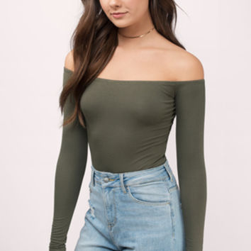 Cosette Off Shoulder Bodysuit