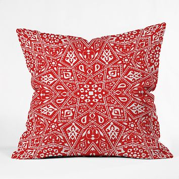 Aimee St Hill Amirah Red Throw Pillow