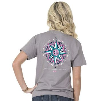 "Youth Simply Southern ""Compass"" Short Sleeve Tee"