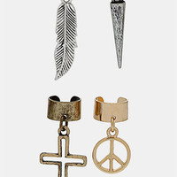 Topshop Ear Cuffs (Set of 4) | Nordstrom