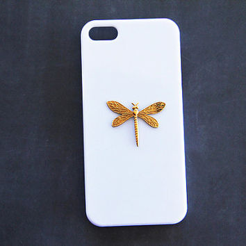 Dragonfly Phone Cover Dragon Fly iPhone 5 Case iPhone 5c Dragonfly White Galaxy S3 Case Animal Case iPhone 6 Plus Dragonfly iPhone 6 White