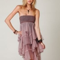 FP-1 Cascade of Ruffles Slip at Free People Clothing Boutique