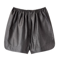 A Détacher / Pony Leather Shorts  |   La Garçonne