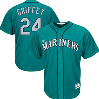 Seattle Mariners Ken Griffey Jr. #24 Alternate Away Throwback Jersey