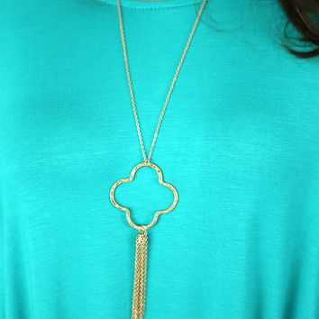 Just the Two of Us Necklace in Gold
