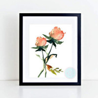 PRINTABLE Art Rose Printable Botanical Print Roses PrintFloral Wall Art Flower Photograph Dorm Wall Art Flower Print Floral Printable