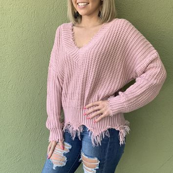 Kendall Sweater - Mauve