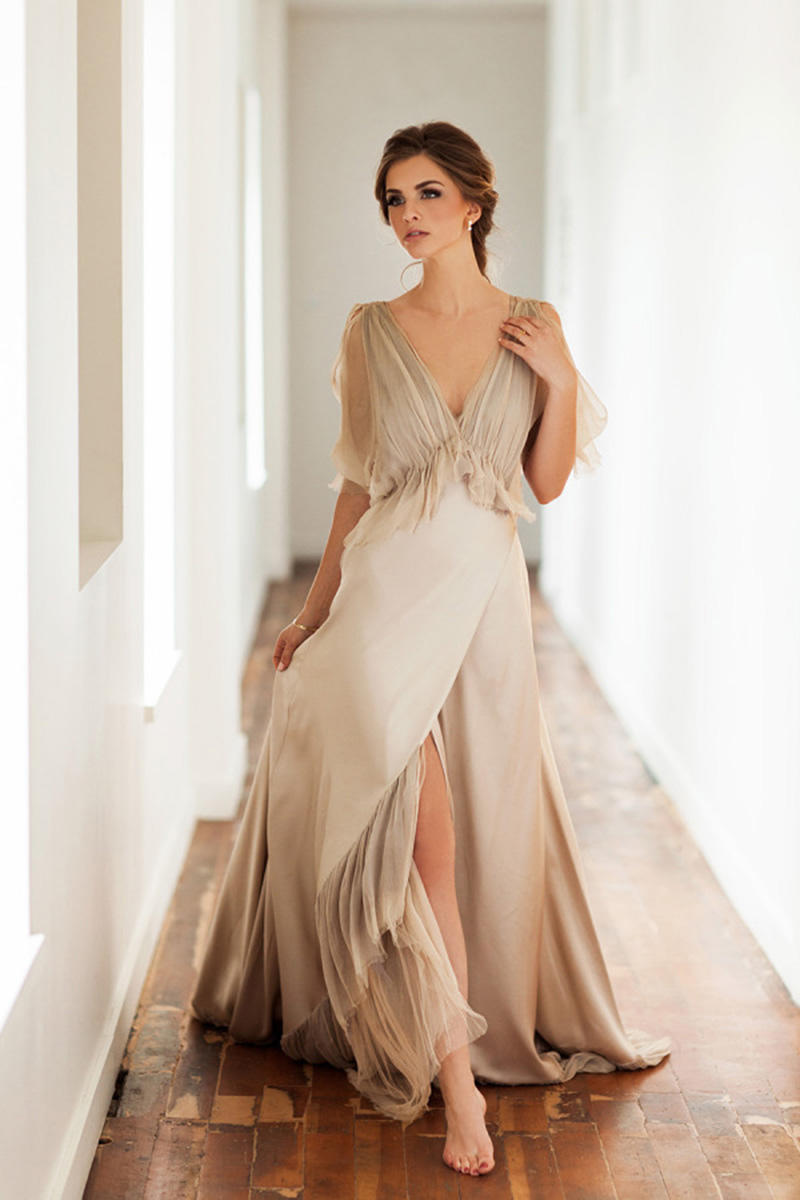 30 fashion forward wedding dress ideas from shopbazaar for Wedding dresses in color