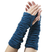Velvet Arm Warmers - New Age, Spiritual Gifts, Yoga, Wicca, Gothic, Reiki, Celtic, Crystal, Tarot at Pyramid Collection
