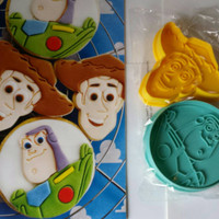 Toy story Cookie Cutter, woody Cookie Cutter, buzz lightyear Cookie,  toy story fondant cutter, Disney Cookie Cutter, fondant cutter, baking